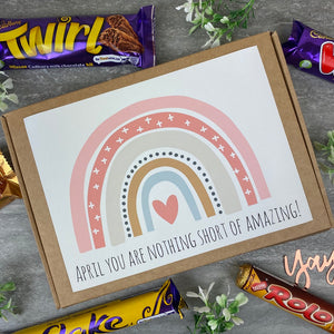 You Are Nothing Short Of Amazing Personalised Chocolate Box-2-The Persnickety Co