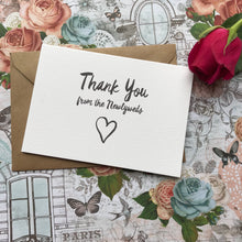 Load image into Gallery viewer, Thank You Wedding Card-3-The Persnickety Co