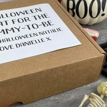 Load image into Gallery viewer, Mummy To Be! Personalised Halloween Sweet Box-9-The Persnickety Co