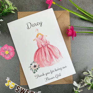 Thank You For Being Our Flower Girl - Pink-5-The Persnickety Co