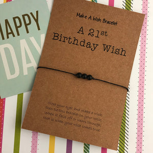 A 21st Birthday Wish - Onyx-6-The Persnickety Co