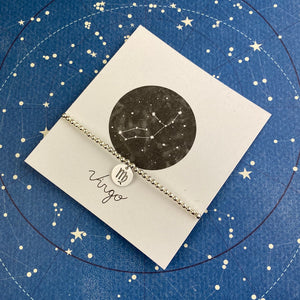 Zodiac Bracelet - Virgo-5-The Persnickety Co