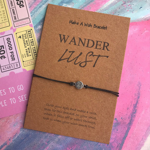 Wanderlust Wish Bracelet-The Persnickety Co