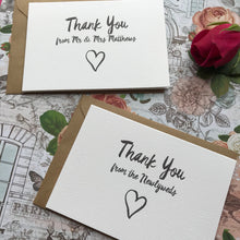Load image into Gallery viewer, Thank You Wedding Card-6-The Persnickety Co
