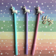 Load image into Gallery viewer, Pastel Unicorn Gel Pen-2-The Persnickety Co
