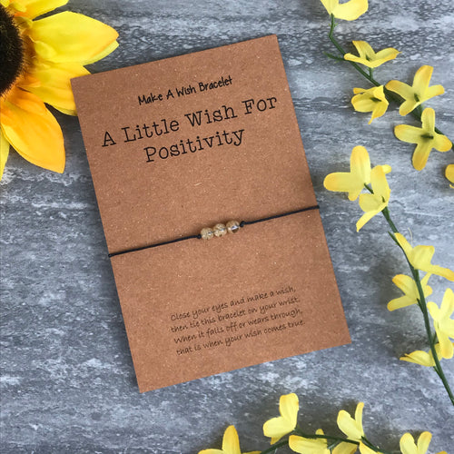 A Little Wish For Positivity - Citrine-The Persnickety Co