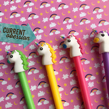 Load image into Gallery viewer, Bright Unicorn Gel Pen-8-The Persnickety Co