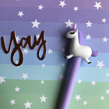 Load image into Gallery viewer, Pastel Unicorn Gel Pen-9-The Persnickety Co