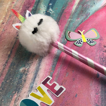 Load image into Gallery viewer, Fluffy Unicorn Pencil-6-The Persnickety Co