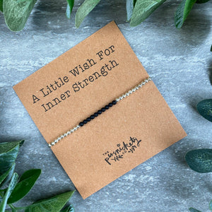 A Little Wish For Inner Strength - Beaded Bracelet-4-The Persnickety Co