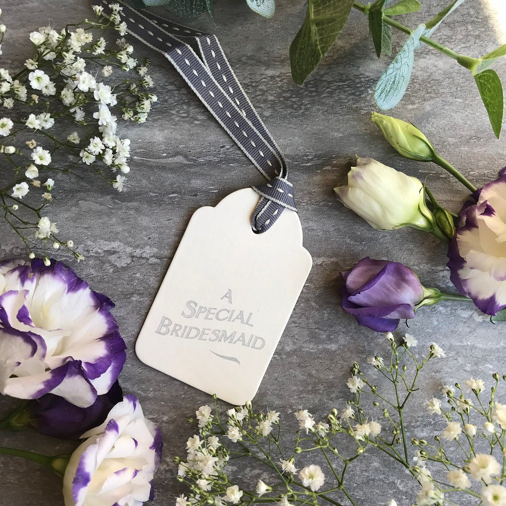 East of India A Special Bridesmaid Tag-The Persnickety Co