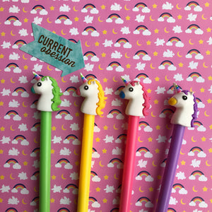 Bright Unicorn Gel Pen-2-The Persnickety Co