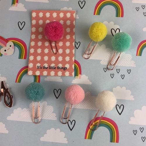Pom Pom PaperClip-The Persnickety Co