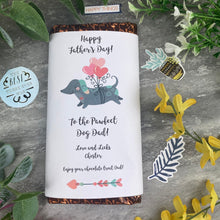 Load image into Gallery viewer, Pawfect Dog Dad Father's Day Chocolate Bar-The Persnickety Co