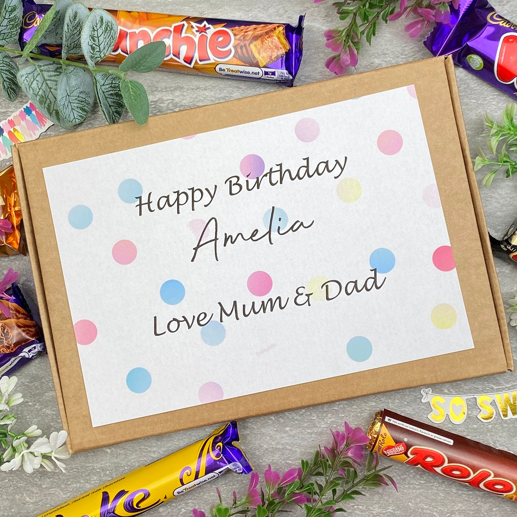 Personalised Birthday Chocolate Gift Box-The Persnickety Co