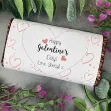 Load image into Gallery viewer, Heart Happy Galentine's Day Chocolate Bar-The Persnickety Co