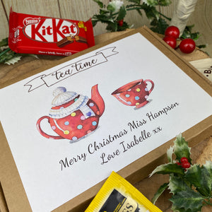 Teacher Christmas Tea & Biscuit Box