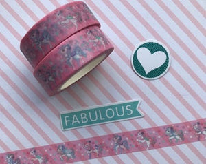 Pink Unicorn Washi Tape-The Persnickety Co