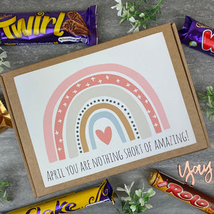 You Are Nothing Short Of Amazing Personalised Chocolate Box-5-The Persnickety Co