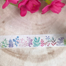 Load image into Gallery viewer, Colourful Plant Washi Tape-4-The Persnickety Co