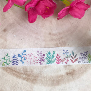 Colourful Plant Washi Tape-4-The Persnickety Co