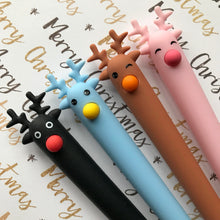 Load image into Gallery viewer, Cute Reindeer Gel Pen-The Persnickety Co