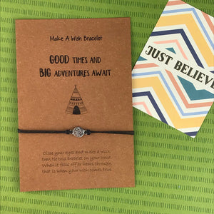 Good Times and Big Adventures Await Wish Bracelet-5-The Persnickety Co