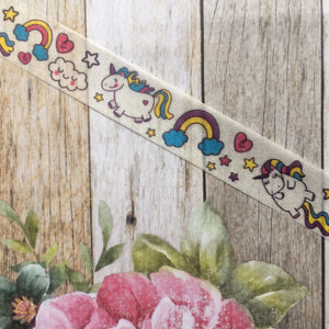 Happy Unicorn and Rainbows Washi Tape-4-The Persnickety Co