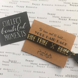 Hen Party Hair Tie / Wristband - To have and to hold your hair back-2-The Persnickety Co