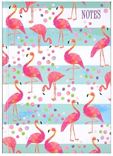 A6 Flamingo Notebook-The Persnickety Co
