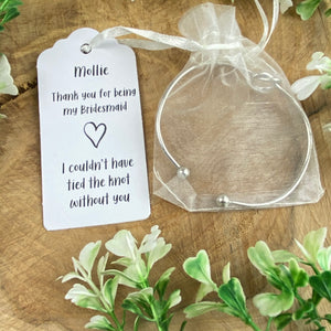 Knot Bangle - Bridesmaid Thank You-2-The Persnickety Co
