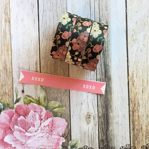 Pink & Purple Flower Washi Tape-The Persnickety Co