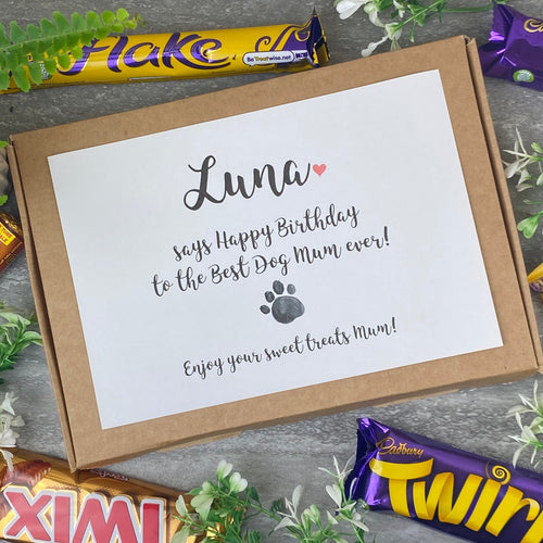 Happy Birthday Dog Mum / Dad - Personalised Chocolate Box-The Persnickety Co