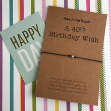 Load image into Gallery viewer, A 40th Birthday Wish - Star-3-The Persnickety Co