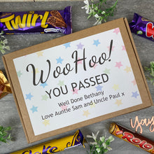 Load image into Gallery viewer, Woo Hoo! You Passed - Personalised Chocolate Box-4-The Persnickety Co