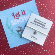 Load image into Gallery viewer, Good Friends Are Like Snowflakes - All Beautiful And All Different-9-The Persnickety Co
