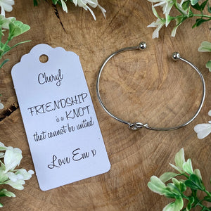 Friendship Is A Knot Bangle-2-The Persnickety Co
