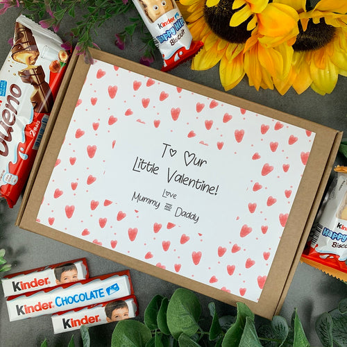 Personalised Little Valentine Kinder Box-The Persnickety Co