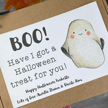 Load image into Gallery viewer, BOO! Personalised Halloween Sweet Box-5-The Persnickety Co