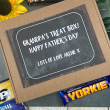 Load image into Gallery viewer, Father's Day Gift - Grandpa's Treat Box