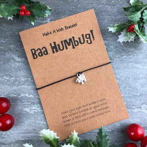 Baa Humbug Wish Bracelet-7-The Persnickety Co