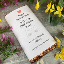 Load image into Gallery viewer, Purrfect Cat Mum Mothers Day Chocolate Bar