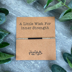 A Little Wish For Inner Strength - Beaded Bracelet-2-The Persnickety Co