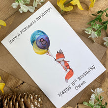Load image into Gallery viewer, FOXtastic Birthday Card-7-The Persnickety Co