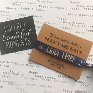 Hen Party Hair Tie / Wristband - To have and to hold your hair back-The Persnickety Co