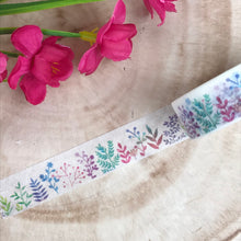 Load image into Gallery viewer, Colourful Plant Washi Tape-3-The Persnickety Co