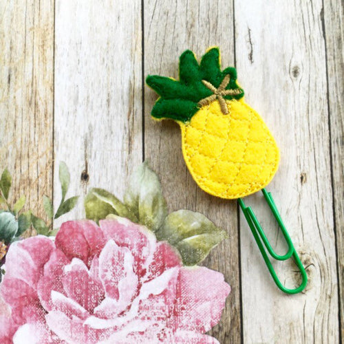 Felt Pineapple Paper Clip-The Persnickety Co