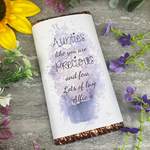 Personalised Auntie Chocolate bar
