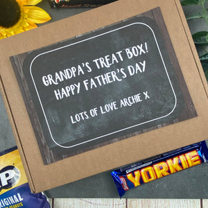Father's Day Gift - Grandpa's Treat Box-The Persnickety Co