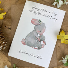 Load image into Gallery viewer, Happy Mother's Day To My Beautiful Mummy - Personalised Card-8-The Persnickety Co
